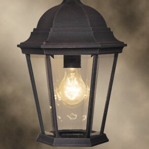 Reviews Basic 1-Light Outdoor Hanging Lantern By Woodbridge Lighting