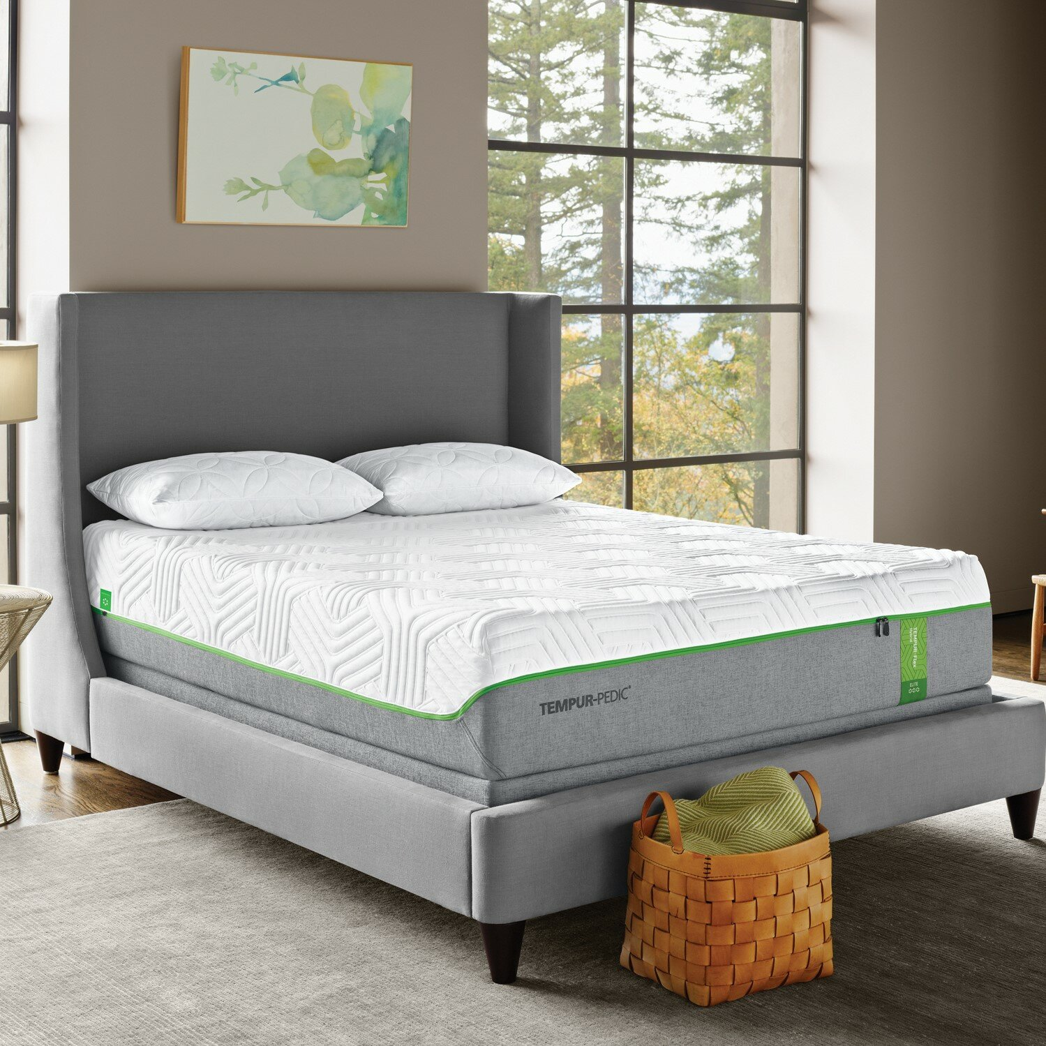tempur pedic tempur flex elite 125 medium plush tight top mattress wayfair - Tempur Pedic Full Mattress
