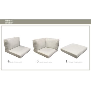 Belle 18 Piece Outdoor Lounge Chair Cushion Set By Tk Clics