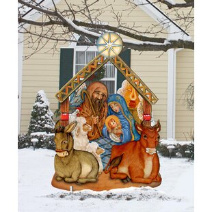 Nativity Lawn Art Outdoor Sets You\u0027ll Love | Wayfair
