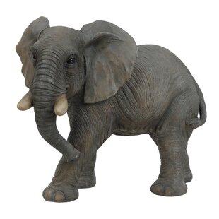 BUDDHA ELEPHANT Gold Silver Ornament Statue Jumbo Figurine Lucky Trunk Up Gift