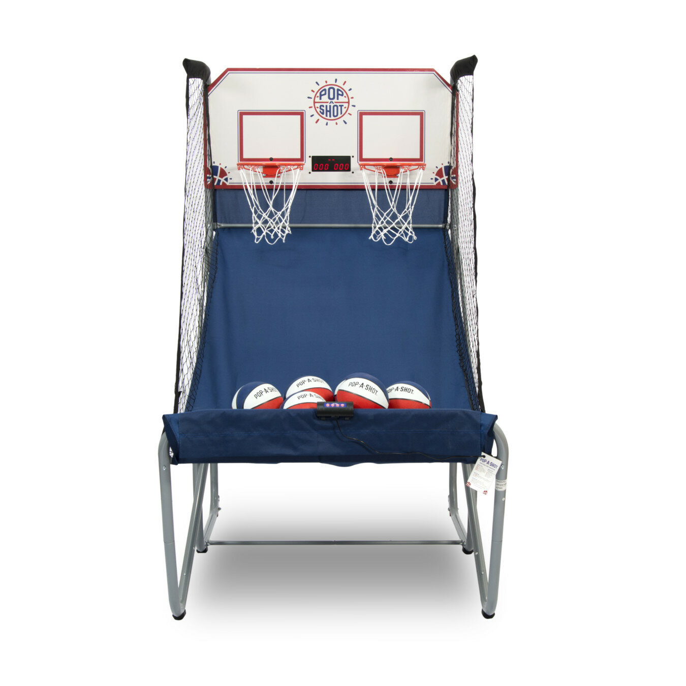 Official Pop-A-Shot Home Dual Shot Basketball Arcade Game