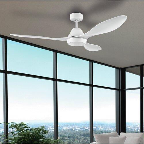 132 cm LED-Deckenventilator Ashtyn mit Fernbedienung ScanMod Design | Lampen > Deckenventilatoren | ScanMod Design