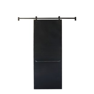 Chalkboard On Sliding Bar Wall Mounted Bulletin Board