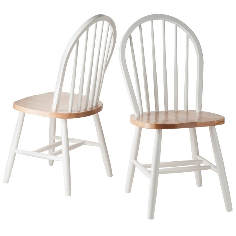 August Grove Windsor Solid Wood Dining Chair & Reviews