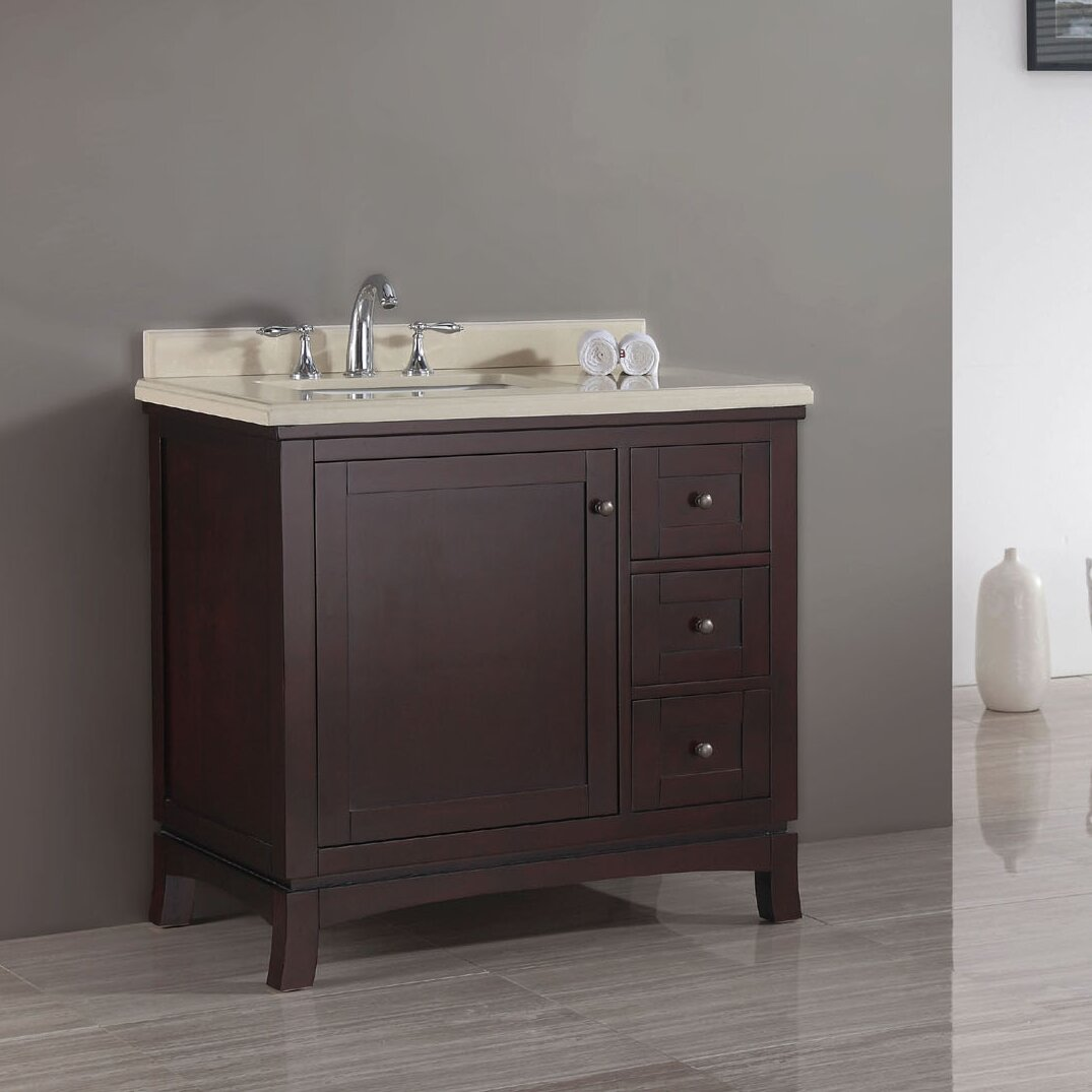 Valega 36 Single Bathroom Vanity Set