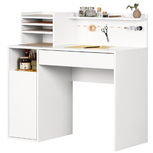 Craft Table With Hutch Wayfair