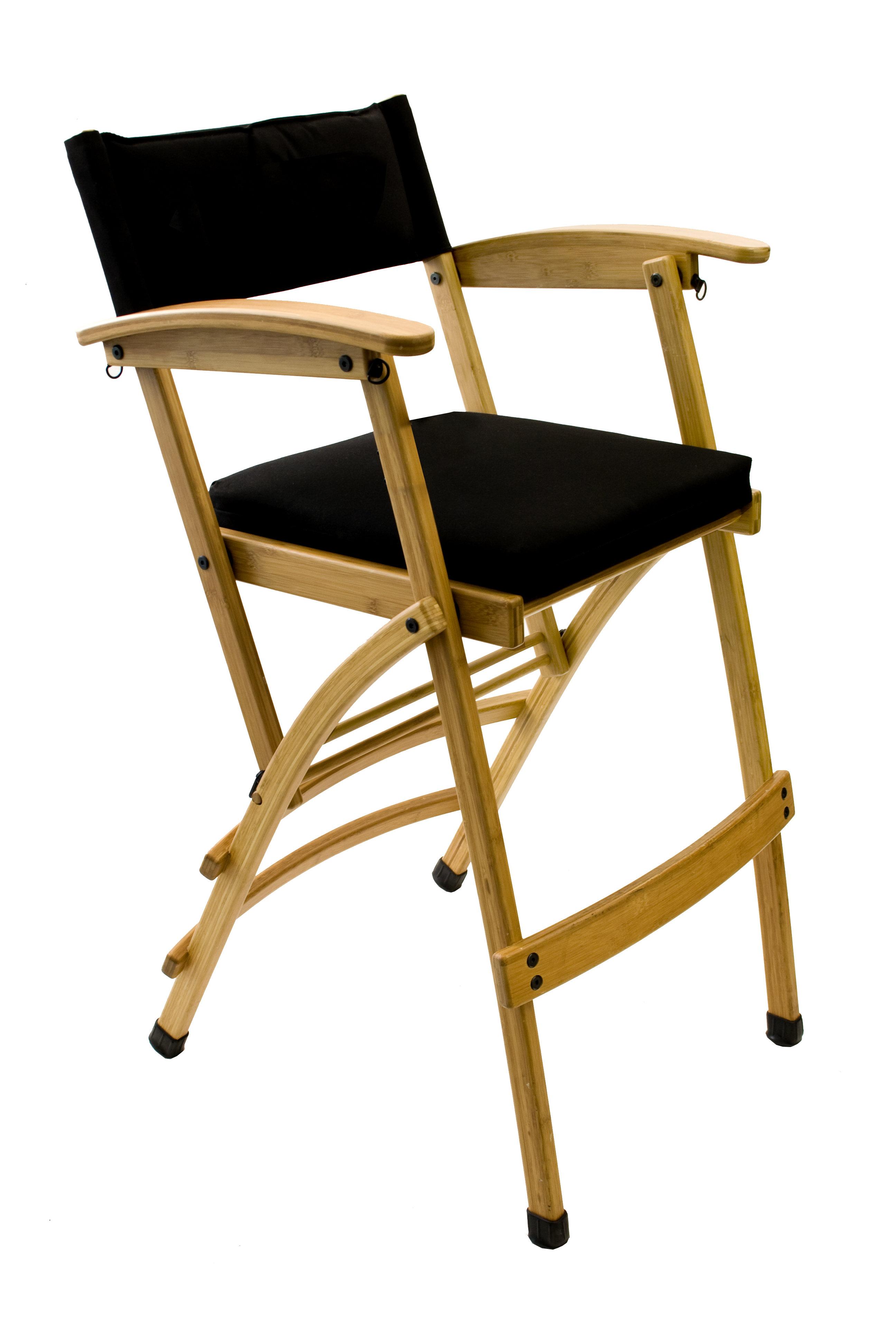 sc 1 st  Wayfair & Totally Bamboo Folding Director Chair with Cushion u0026 Reviews   Wayfair