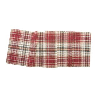jenine plaid table runner - Christmas Plaid Table Runner