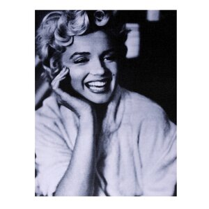 Marilyn Monroe 1954 Wrapped Photographic Print on Canvas by Amrita Singh