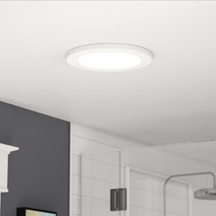 Budget Jasmine 1-Light 3000K Flush Mount By Latitude Run