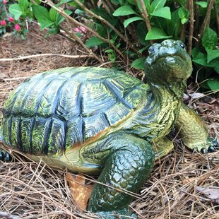 Call Of The Wild Large Box Turtle Statue