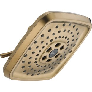 Universal Showering Components 2 GPM Shower Head with H2okinetic Technology By Delta