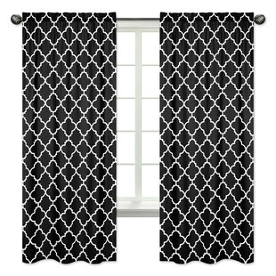 treatments trellis panels sheer curtains curtain window jojo geometric pocket semi sweet designs rod pdx