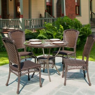 Kuruova Garden 5 Piece Dining Set By Bay Isle Home