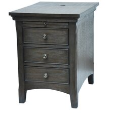 Brookdale Pull Shelf End Table by Darby Home Co