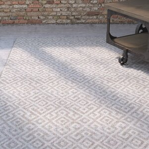 Waller Light Brown Indoor/Outdoor Area Rug