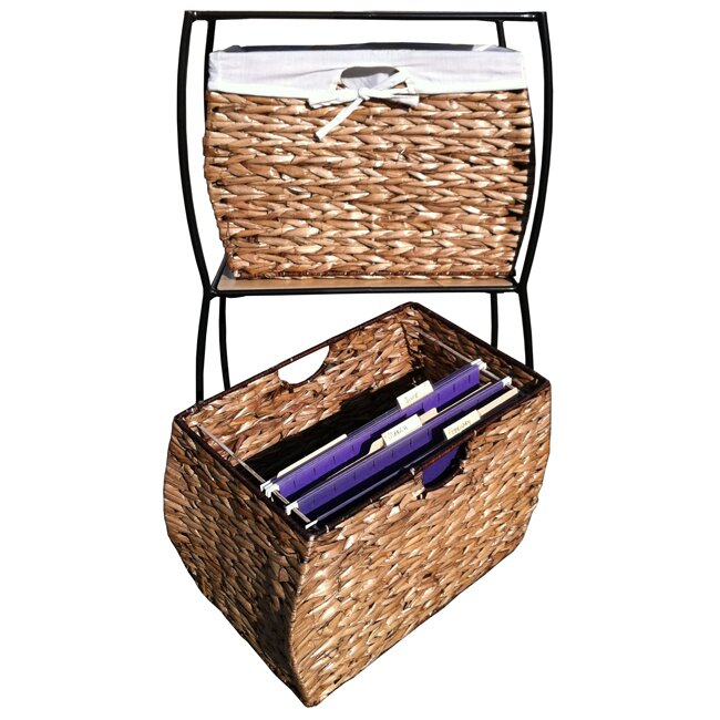 Seagrass Basket Storage Pangaea 3 Drawer Storage Chest