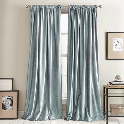 Modern 20 Quot 30 Quot Width Blue Curtains Drapes Allmodern
