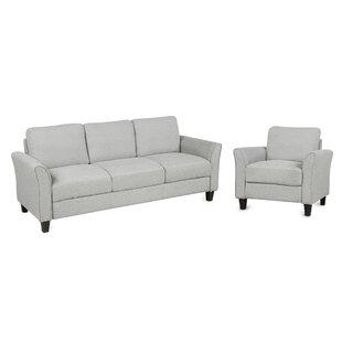 2 Pieces Sofa Set by Red Barrel Studio®