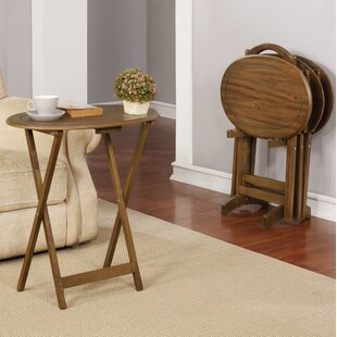 Compare Wiliams Tray Table Set by Millwood Pines