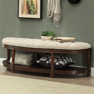 Bowers Wood Storage Bench