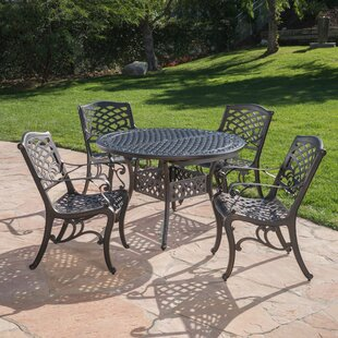 Chatham Square 5 Piece Dining Set By Fleur De Lis Living