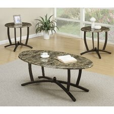 Cazadol 3 Piece Coffee Table Set by A&J Homes Studio