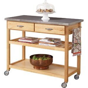 Exceptional Stainless Steel Kitchen Islands U0026 Carts Youu0027ll Love | Wayfair