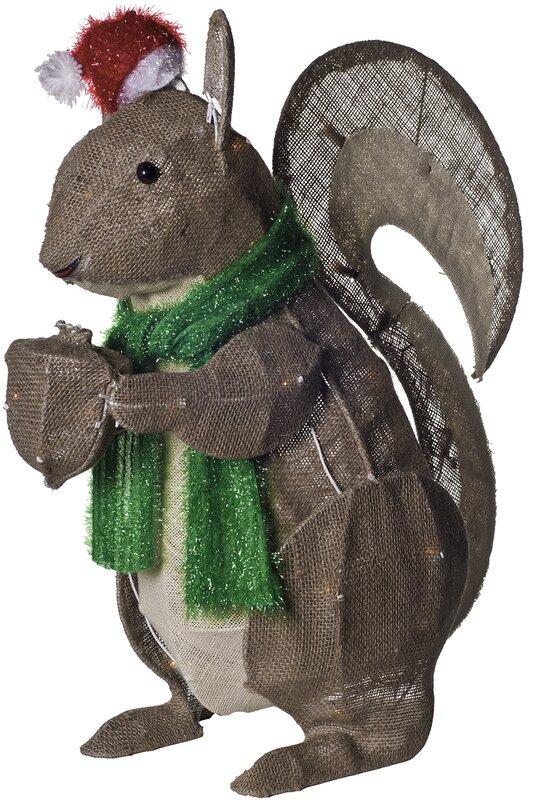 Dyno Seasonal Solutions Squirrel Christmas Decoration