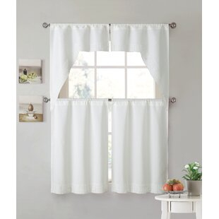Ruffled Cape Cod Curtains | Wayfair