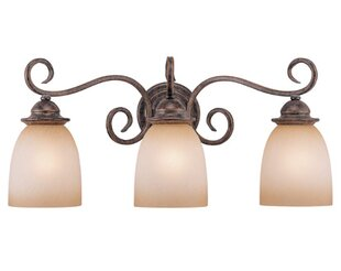 Brosnan 3-Light Vanity Light By Fleur De Lis Living Wall Lights