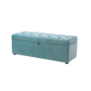 Bargain Luyen Tufted Upholstered Storage Bedroom Bench ByEverly Quinn