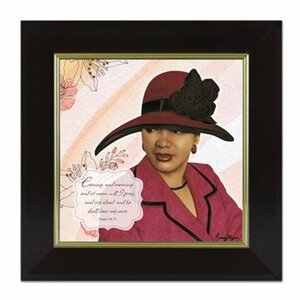 Virtuous Woman Framed Graphic Art by African American Expressions