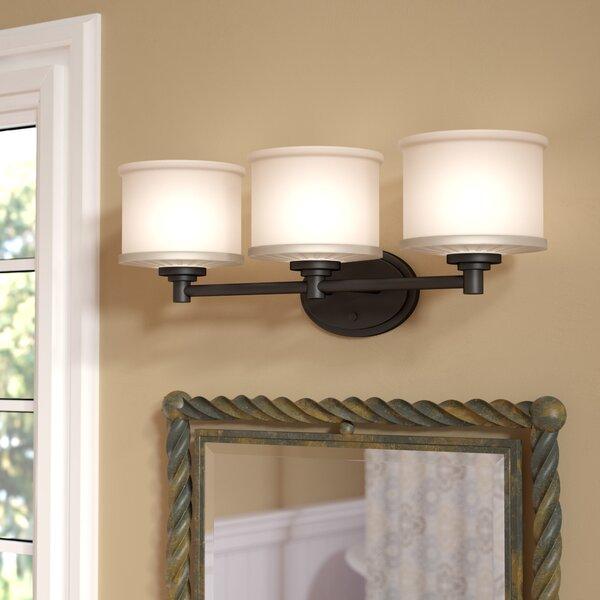 Darby Home Co Wedgewood 3-Light Vanity Light & Reviews | Wayfair