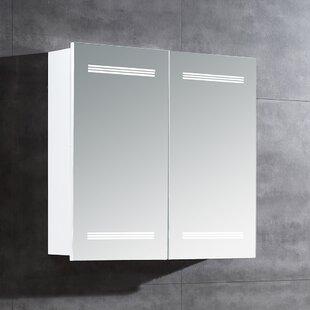 Online Reviews Marici LED Bathroom/Vanity Mirror ByOve Decors