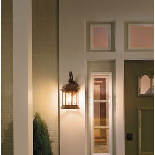 Buy clear Miranda Outdoor Wall Lantern By Charlton Home