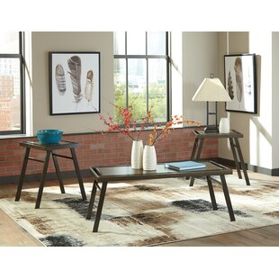 Siegel 3 Piece Coffee Table Set Bloomsbury Market