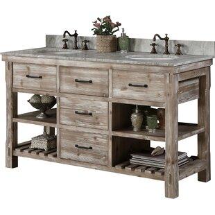 trendy bathroom cabinets wood ideas chic vanities digsdigs impressing industrial on vanity and