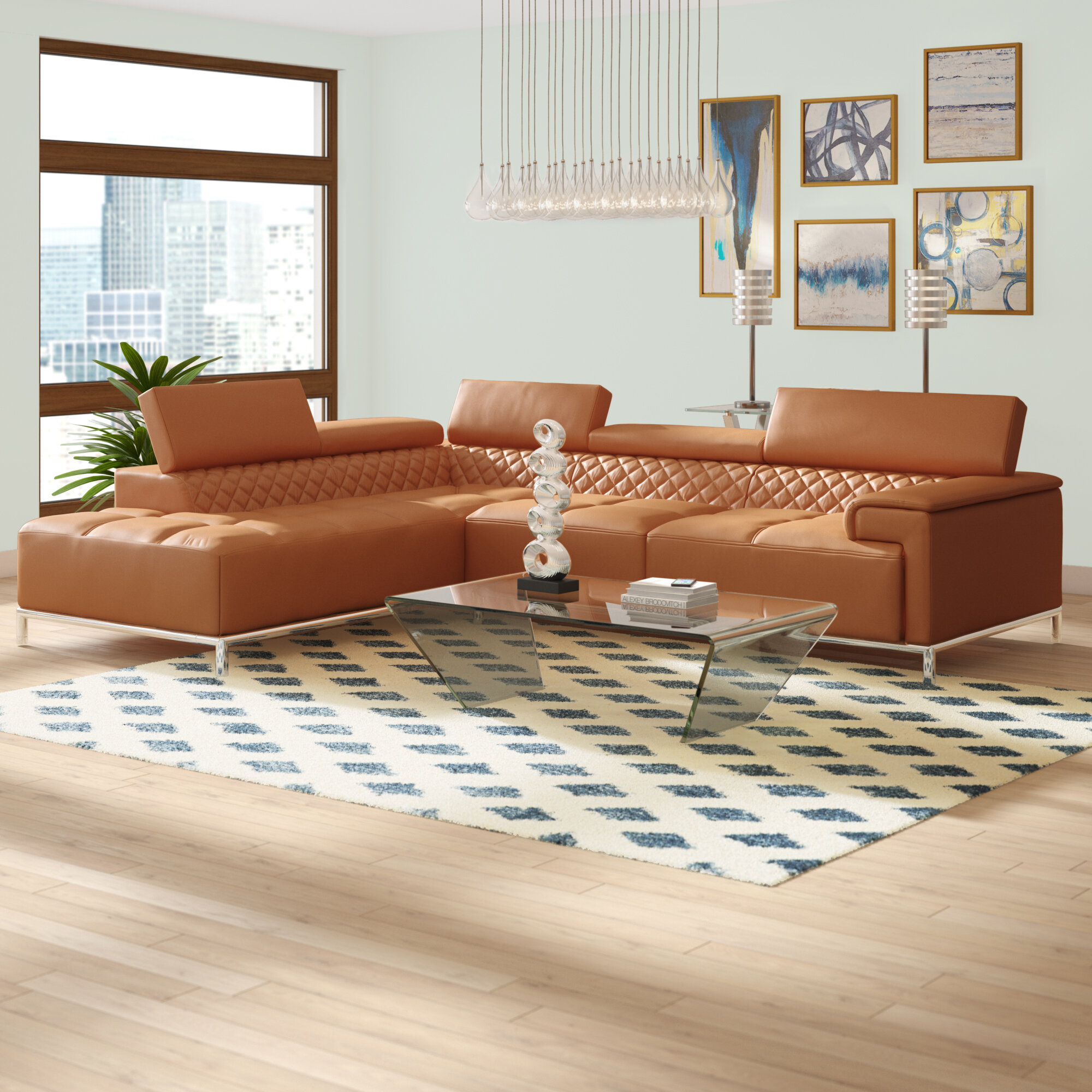 Leather Left Facing Sectionals You Ll Love In 2021 Wayfair