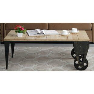 Affordable Price Brassfield Classic Plank Coffee Table by Williston Forge