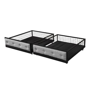 Sheridan Bunk Bed Drawers (Set of 2) by Laurel Foundry Modern Farmhouse