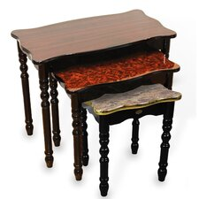 3 Piece Nesting Tables by Uniquewise