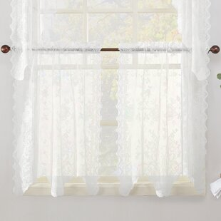 Alison Cafe Curtains (Set Of 2)