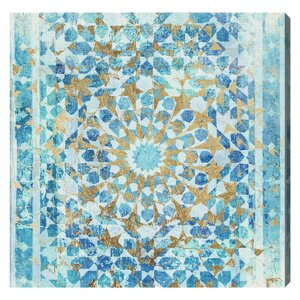 'Incense Mandala' Graphic Art on Wrapped Canvas by Willa Arlo Interiors