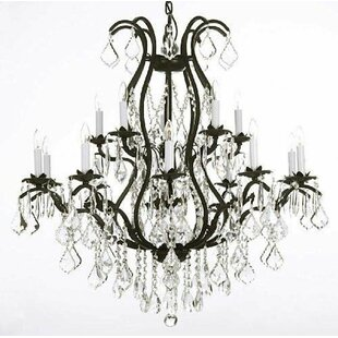 Compare & Buy Alvan 15-Light Traditional Candle Style Chandelier By Astoria Grand