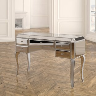 Elicia Glass Writing Desk