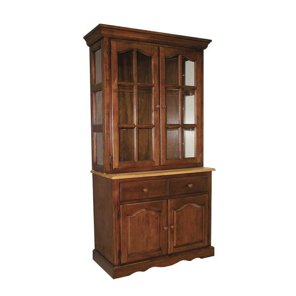Candle Lighted China Cabinet Wayfair