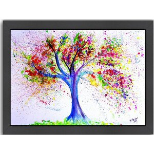 Tree of Life Framed Painting by East Urban Home