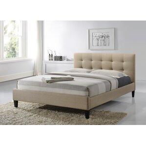 lucas upholstered platform bed - Upholstered Bed Frames